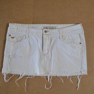 Hollister Distressed Mini Skirt Size11